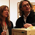 Patti Smith and Wim Wenders